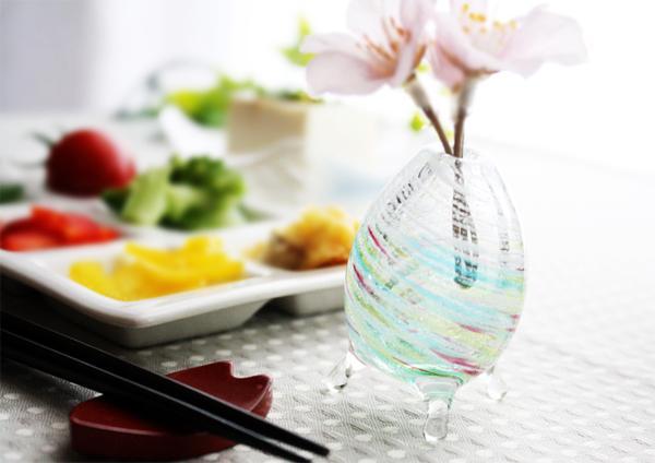 琉球ガラスの引き出物